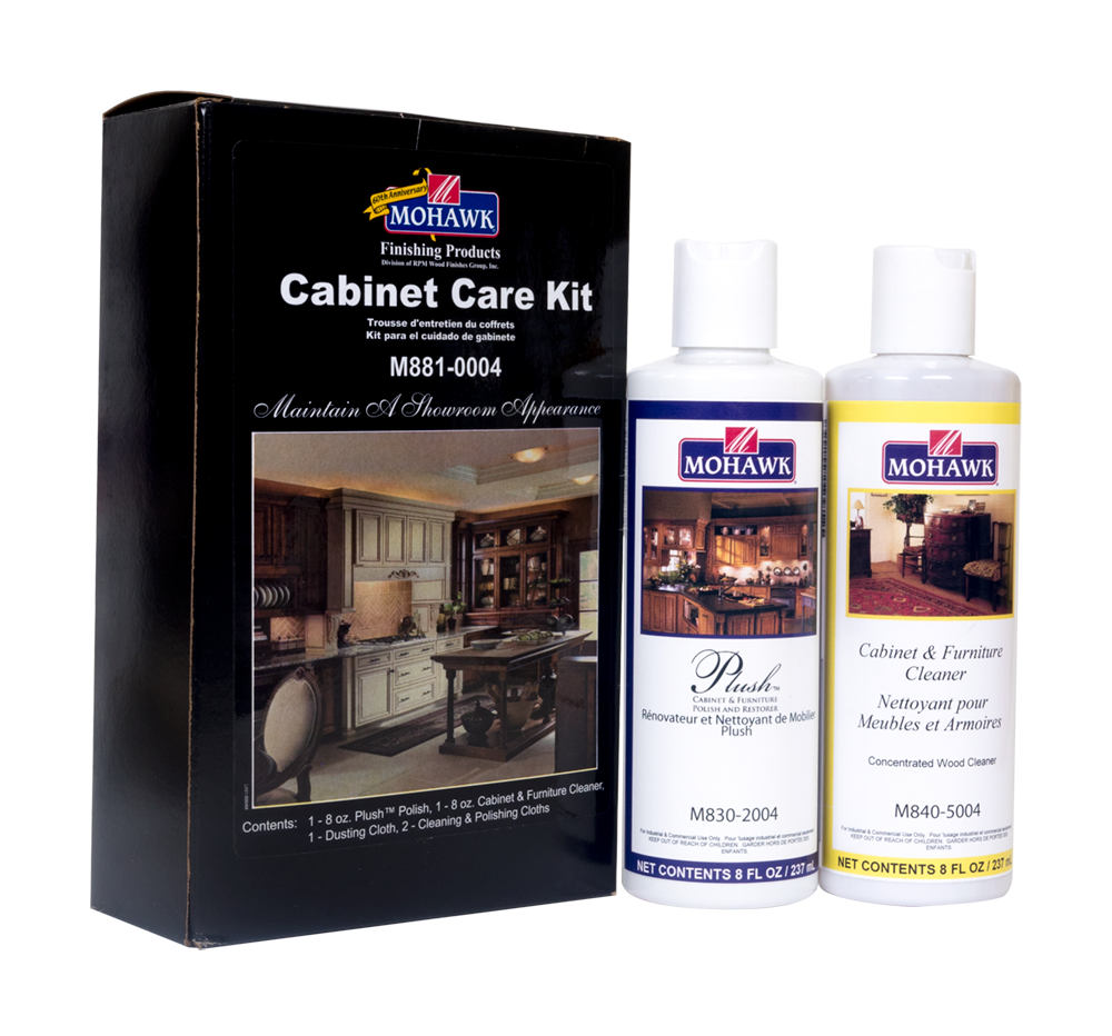 Clean clipart furniture polish. Cabinet care kit for