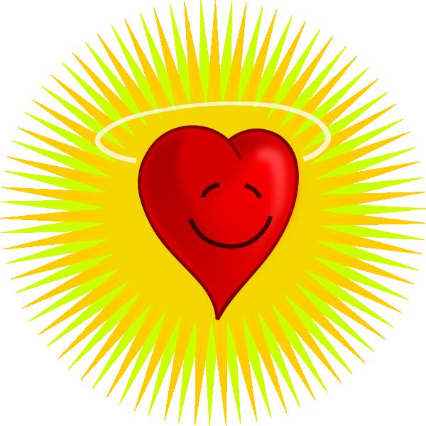 Heart clip art at. Clock clipart happy