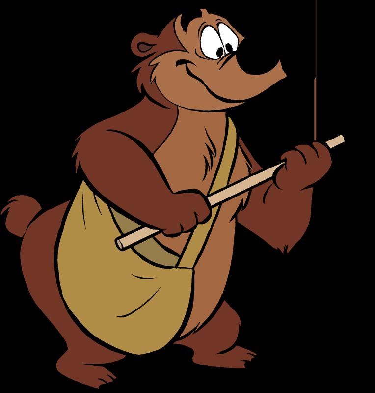 Nemo clipart cast. Humphrey the bear disney