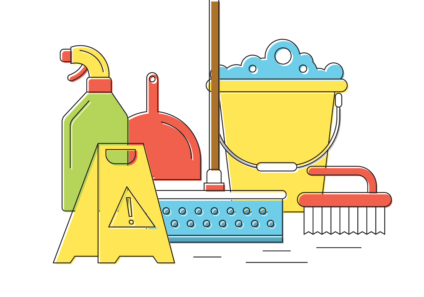 Spring cleaning clip art. Clean clipart housekeeping tool