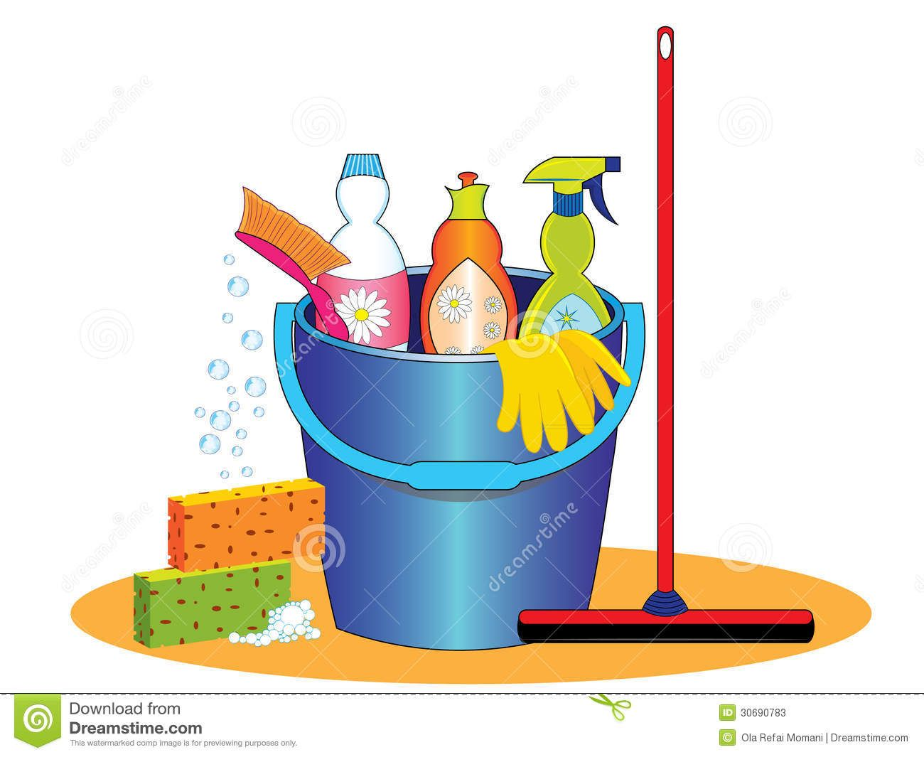 Housekeeping clipart clean hand. Cleaning supplies clip art