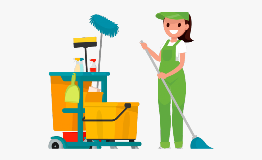 Factory cleaning services . Housekeeping clipart custodial