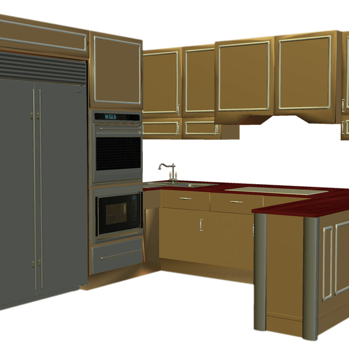 Appealing room images simple. Clipart kitchen kitchen layout