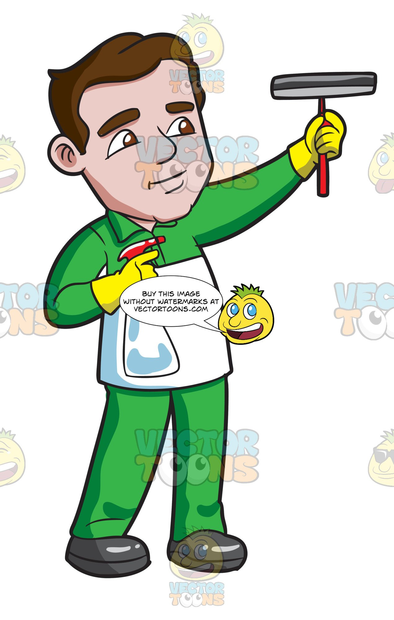 A man cleaning the. Clean clipart male clean