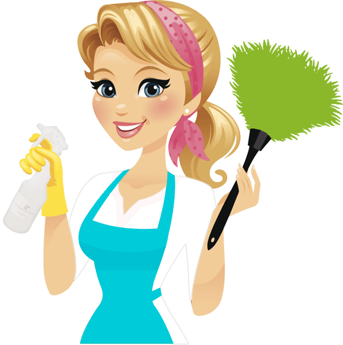 Female clipart janitor. Cleaning lady group schedule