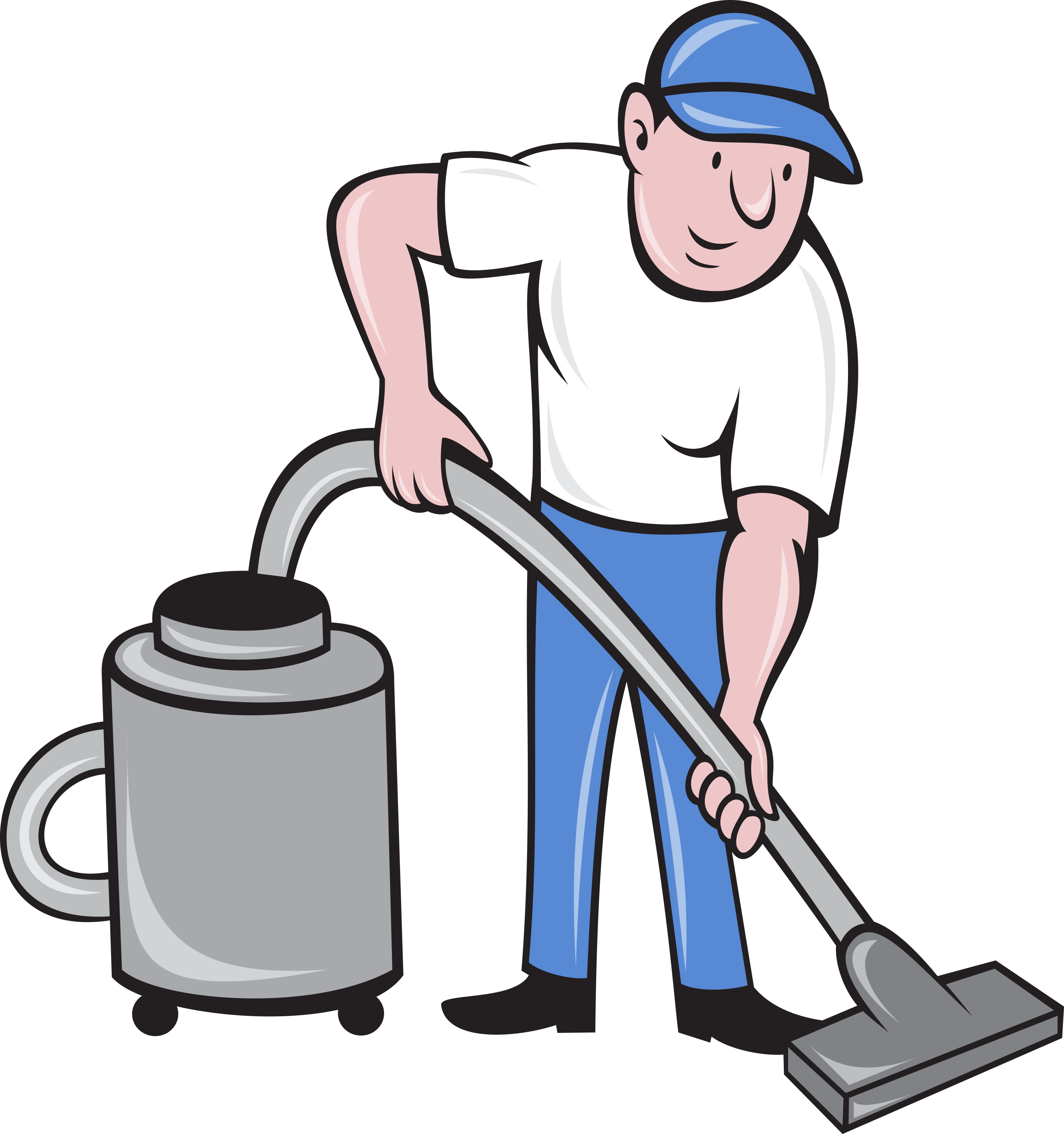Clean clipart male clean. Cleaner vacuuming vacuum cleaning