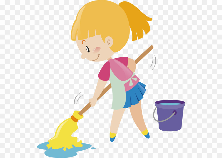 Cleaning clipart washing floor. Wash cartoon png mop