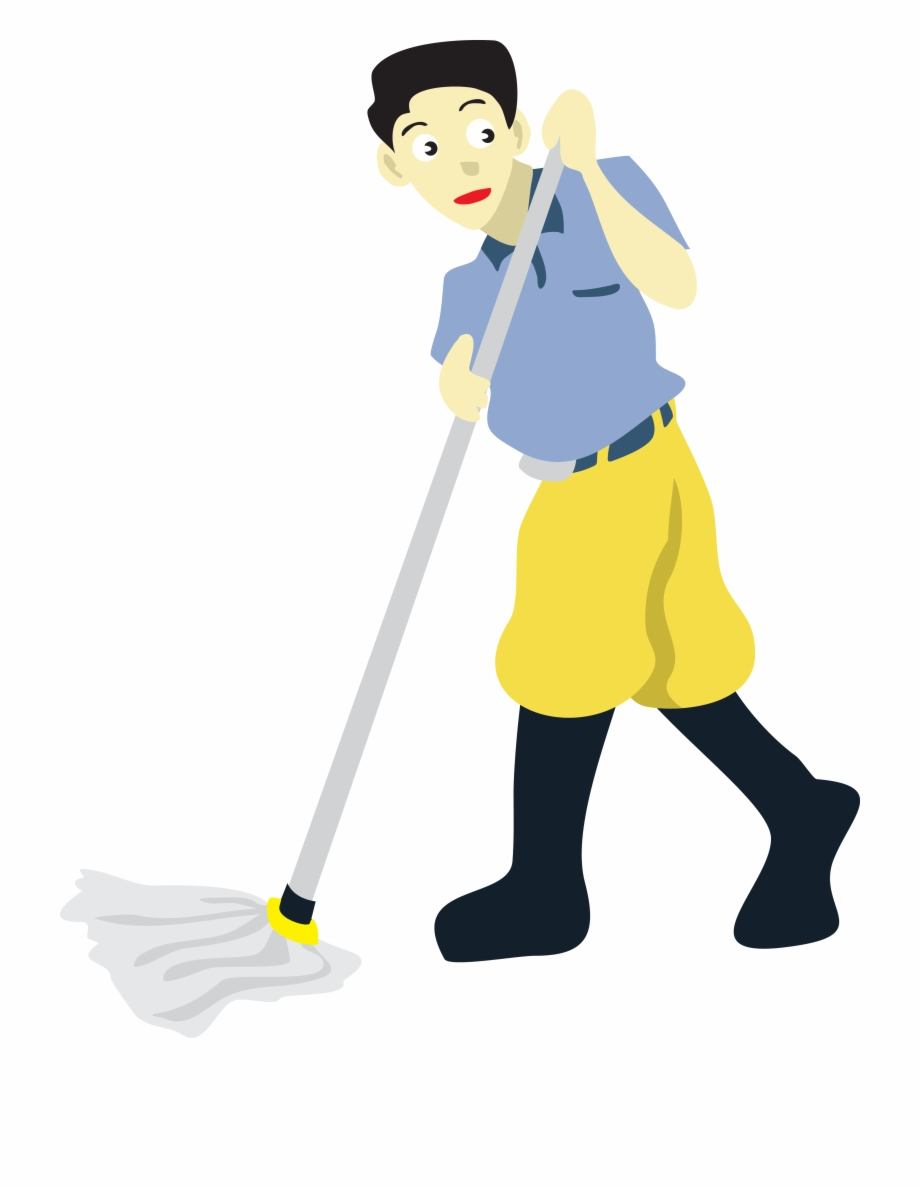 Cleaning clip art mopping. Clean clipart mop floor