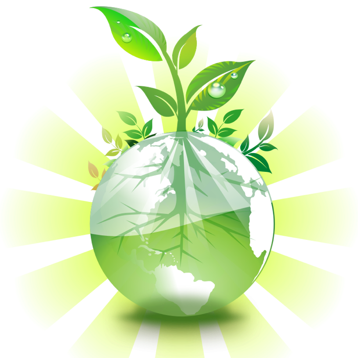 Environmental eco green graphics. Environment clipart full bin