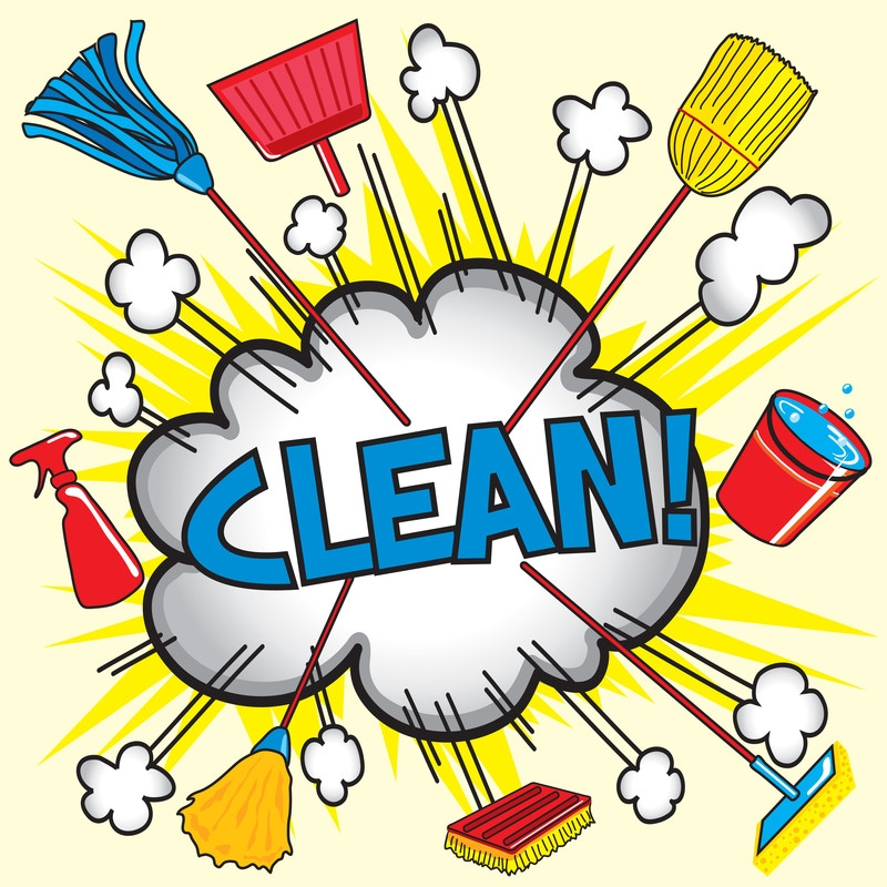 Clean office clip art. Housekeeping clipart mess