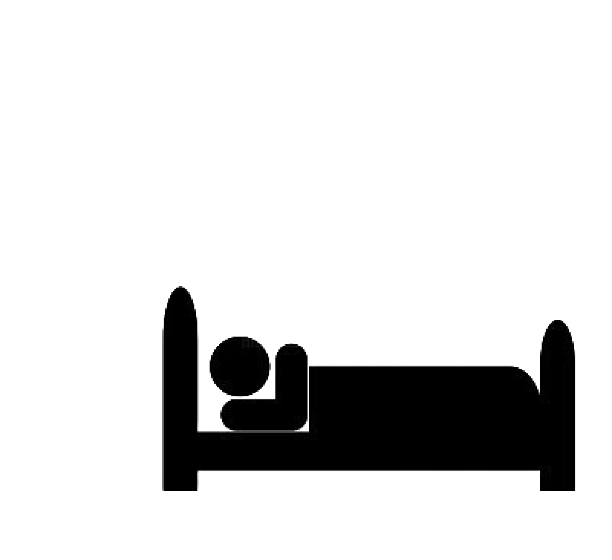 Clipart bed icon. Organize bedroom at real