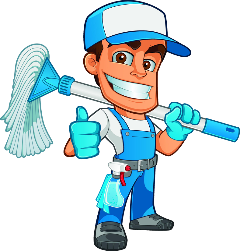 Contact spotless cleaning crew. Clean clipart person
