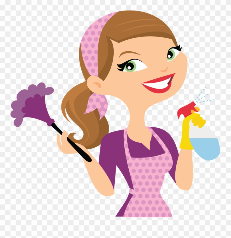 Cleaning lady cartoon pinclipart. Housekeeping clipart animated