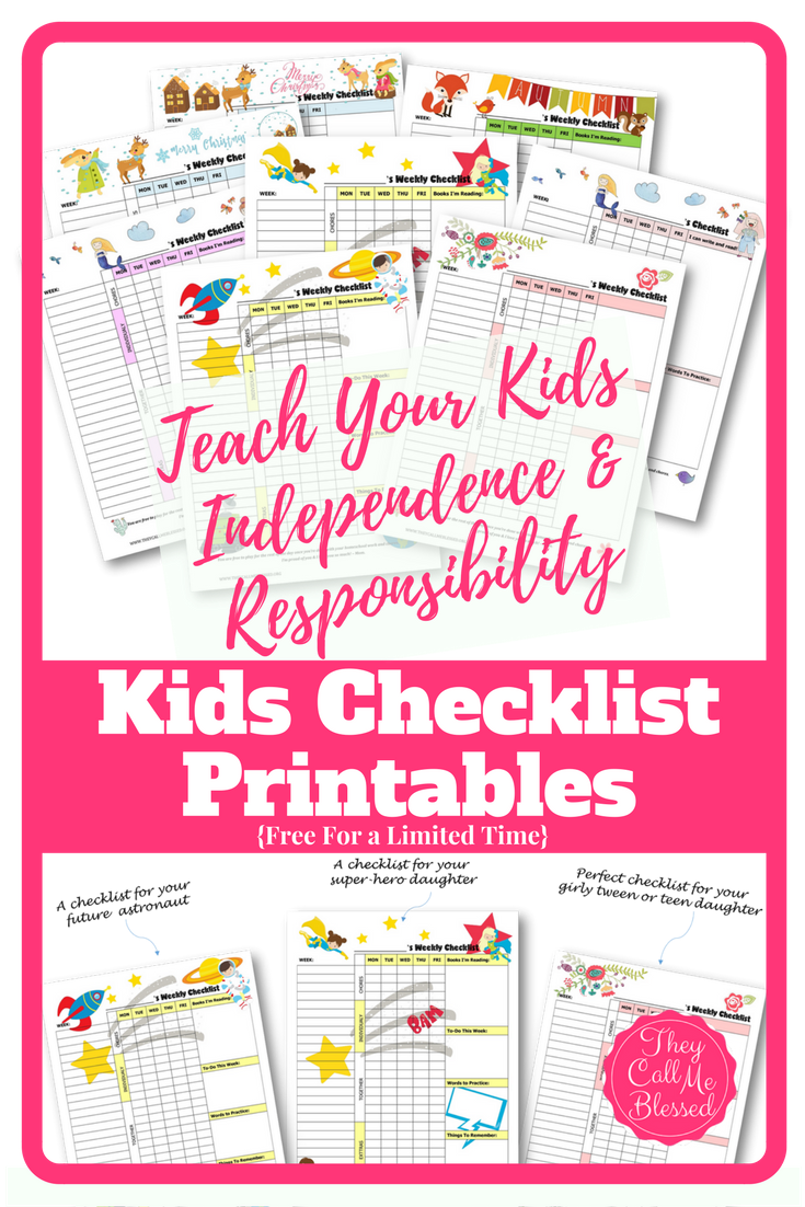 Schedule clipart daily checklist. How to teach kids
