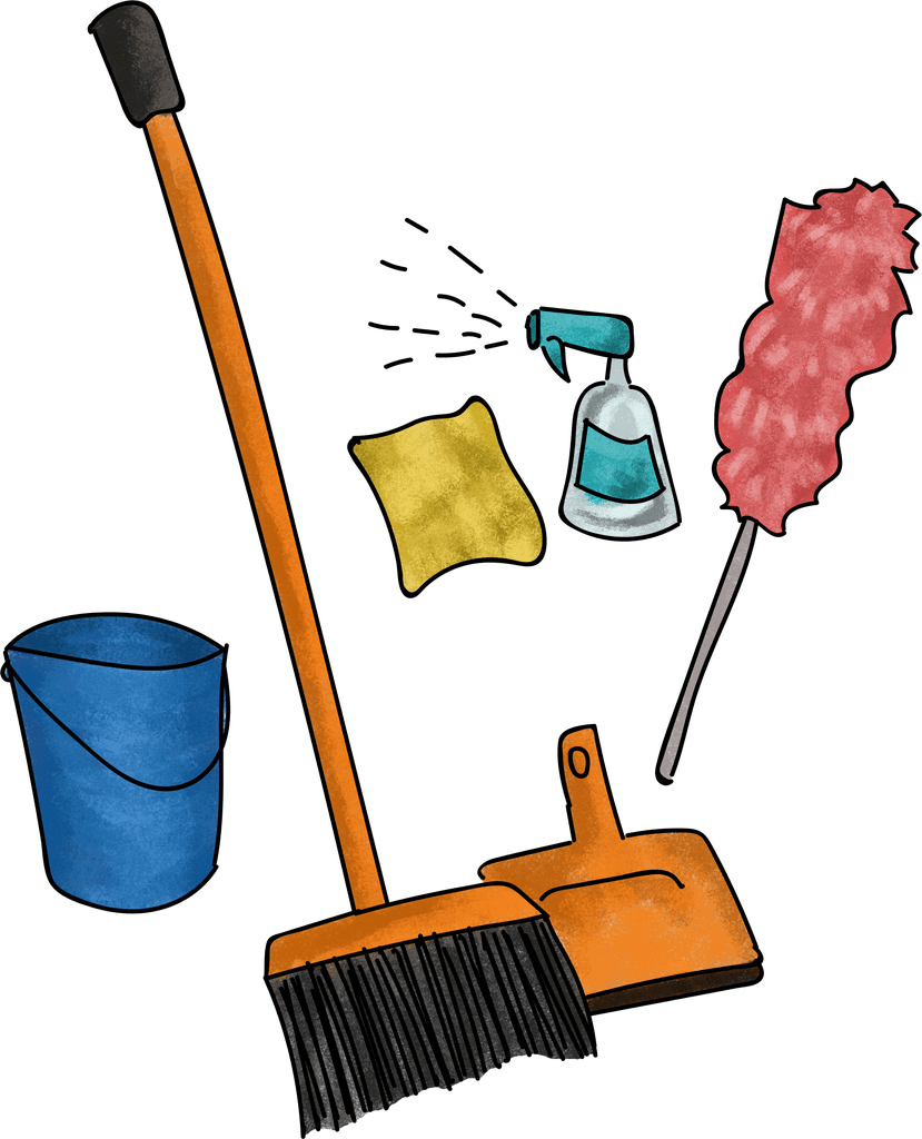 Cleaning games the game. Clean clipart responsible kid
