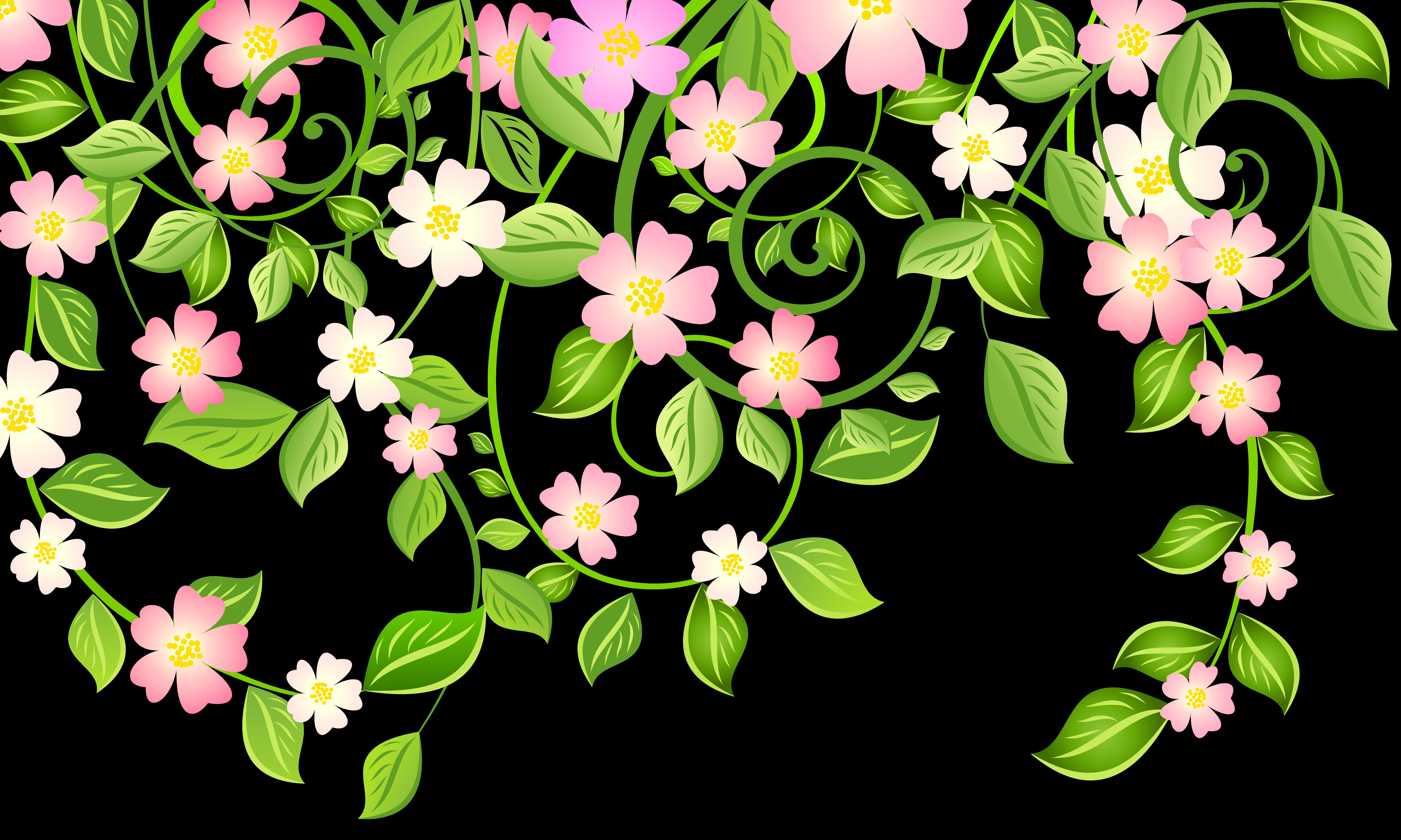 Garden clipart spring garden. Leaves clipartxtras art of