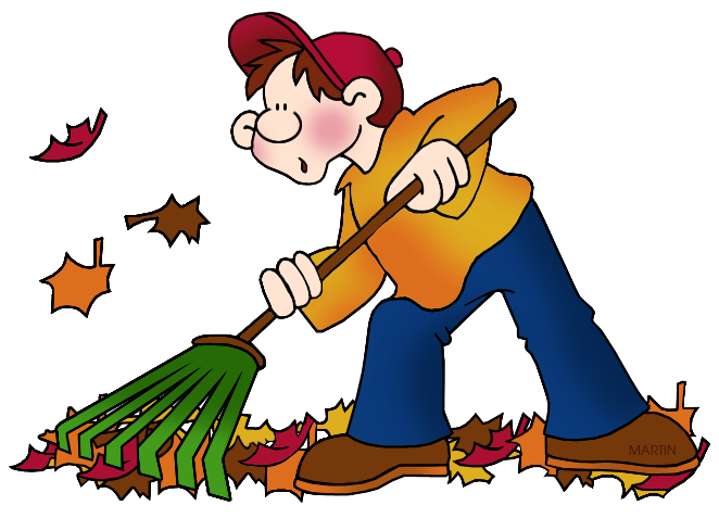 collection of leaves. Fall clipart sweeping leave