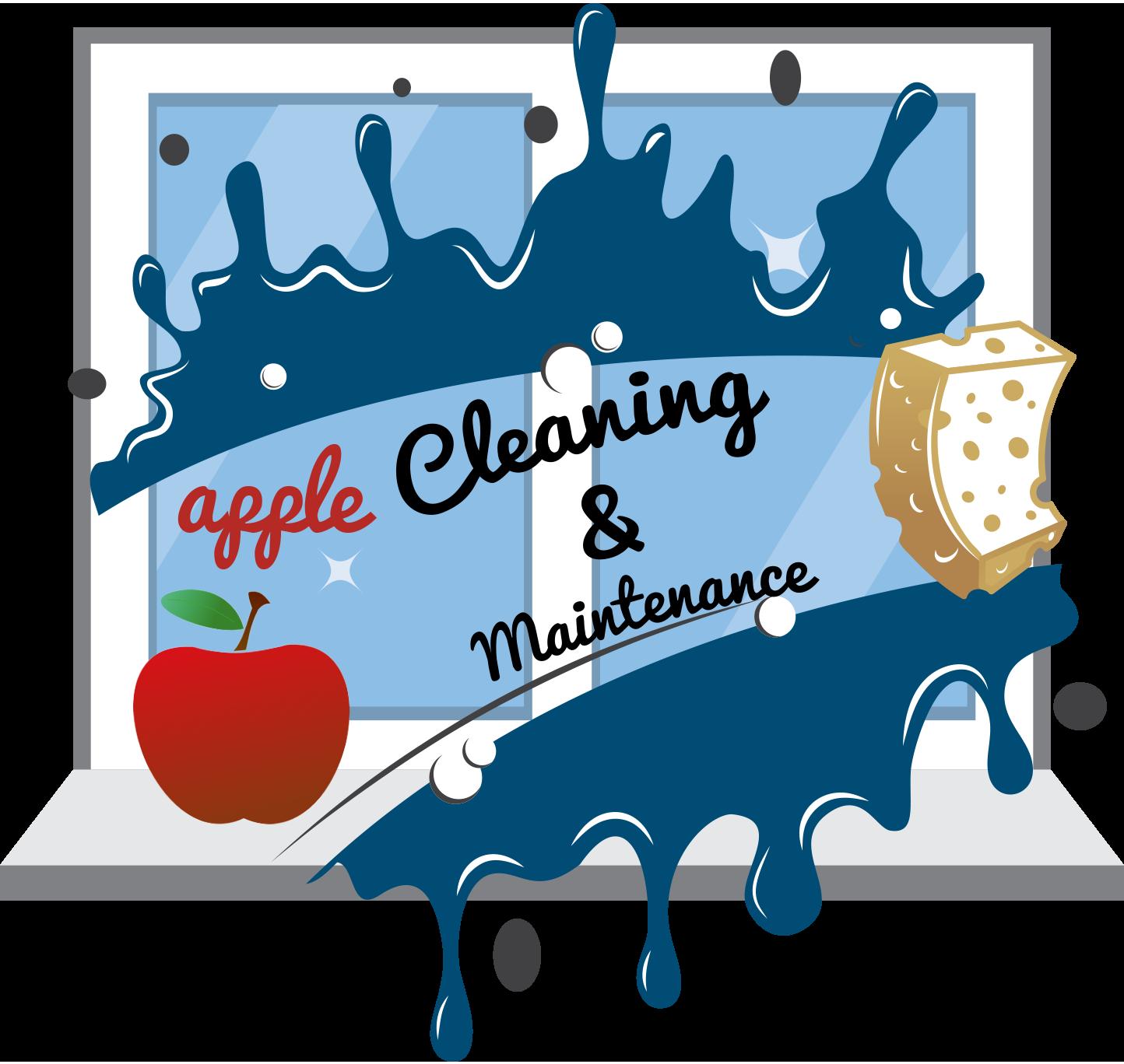 Housekeeping clipart floor cleaning. Apple maintenance