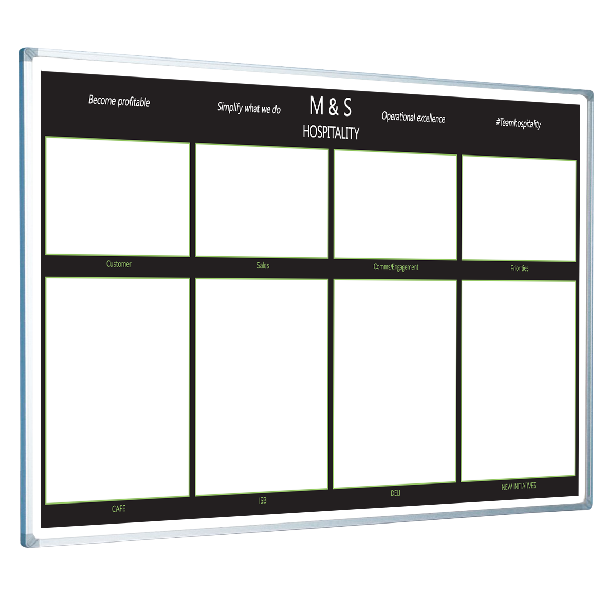 Custom printed planner whiteboards. Markers clipart mini whiteboard