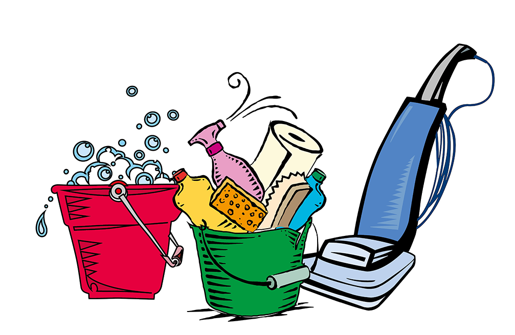 Furniture clipart household supply. House cleaning for services