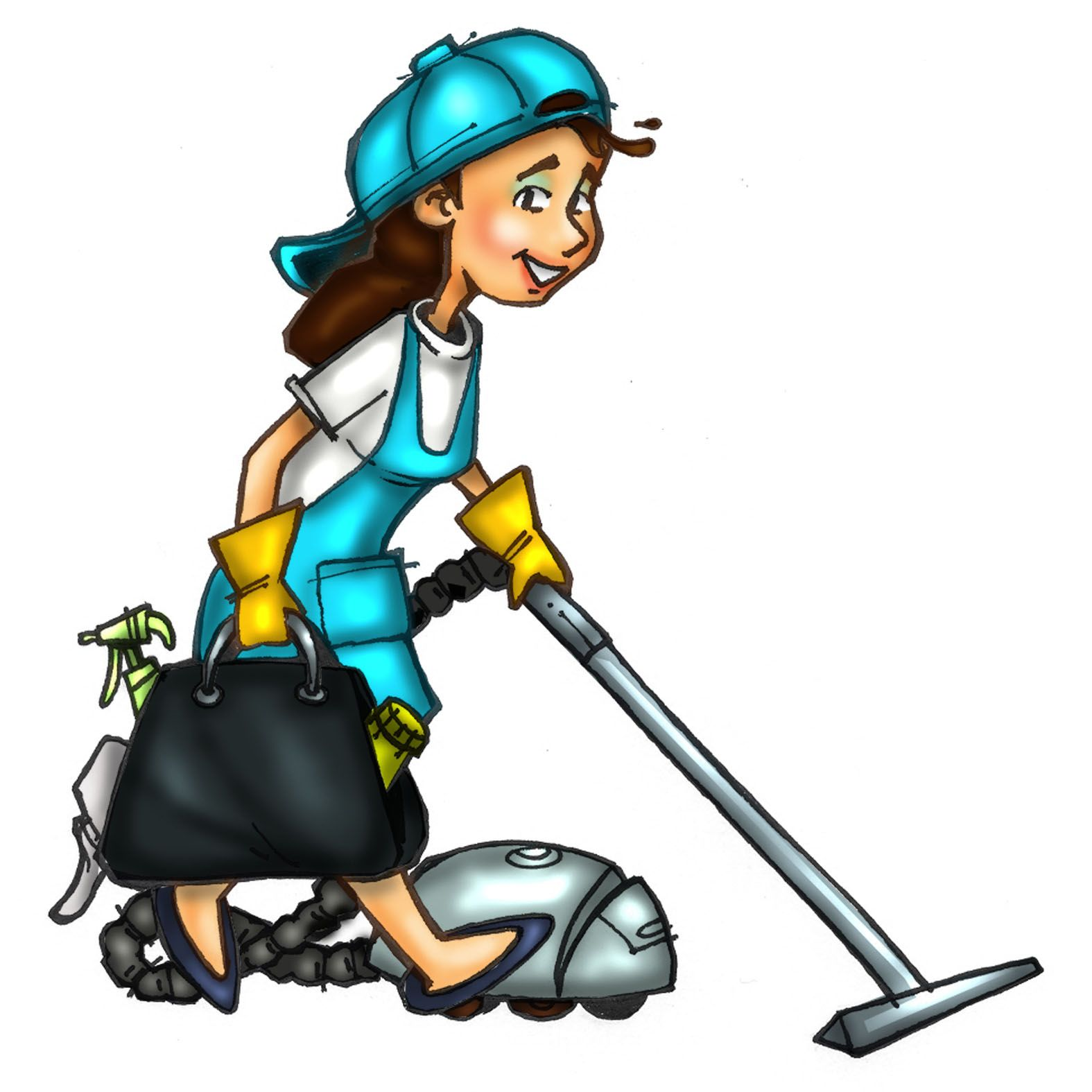 Pictures of maids cliparts. Maid clipart office cleaning services