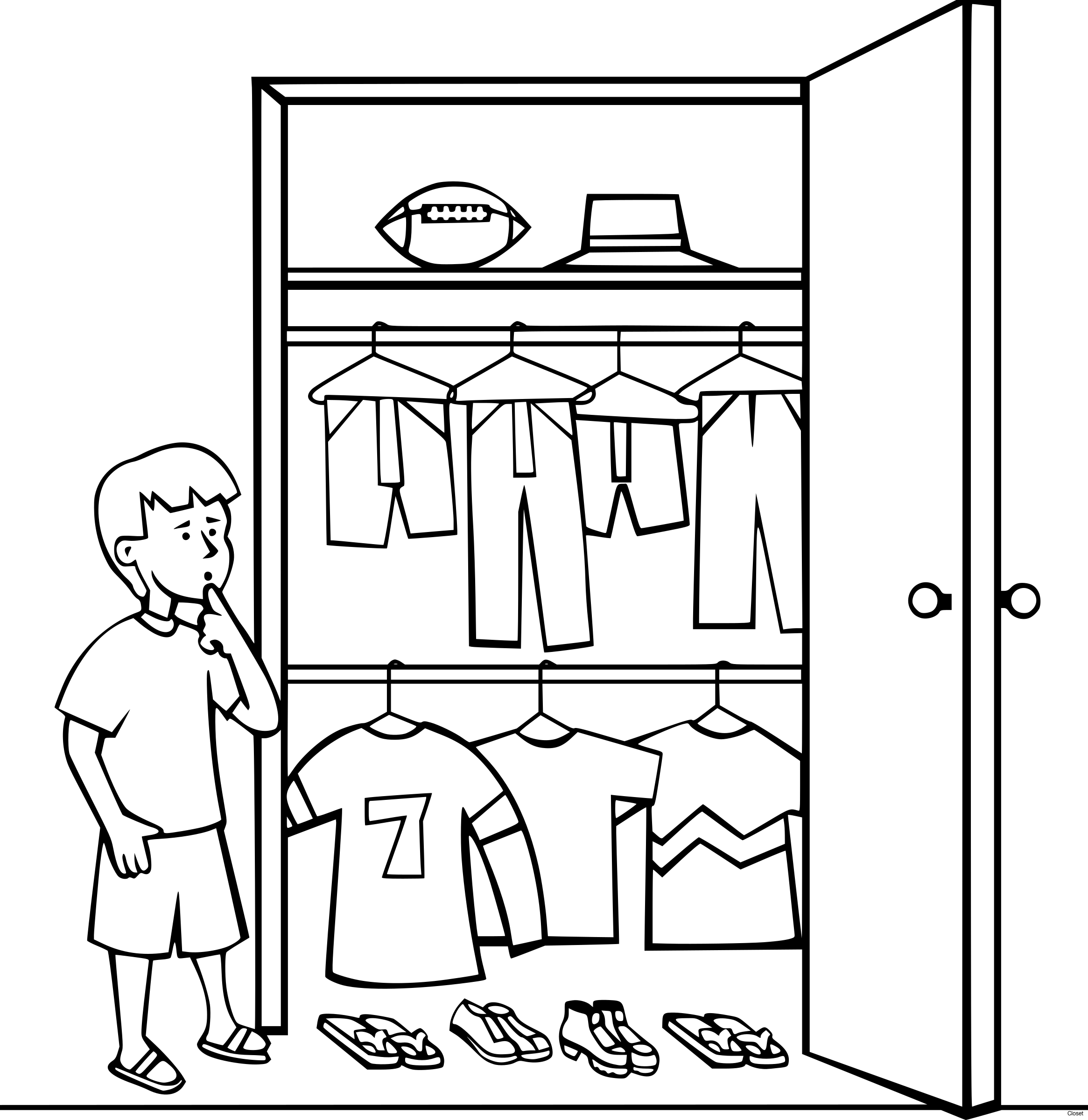Door clipart black and white. Closet absolutely ideas clip