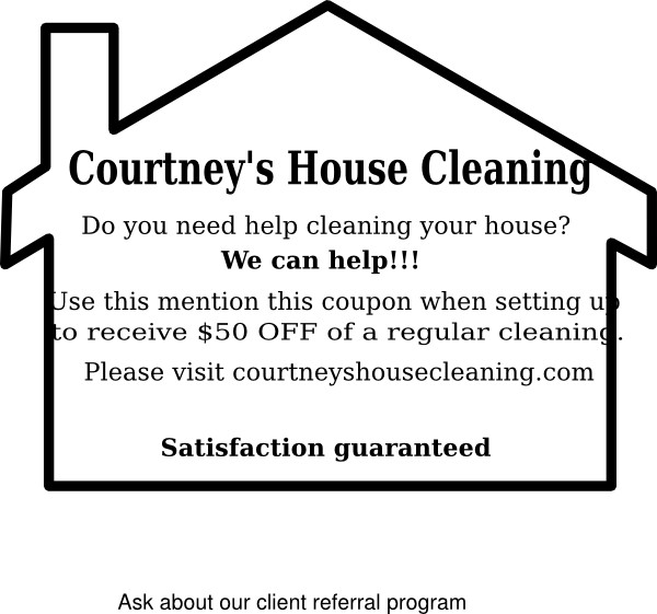 Cleaning clipart black and white. House services clip art