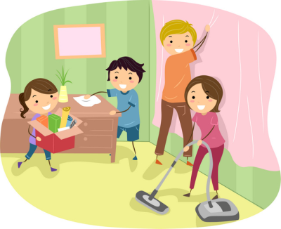 Clean png dlpng com. Cleaning clipart class duty