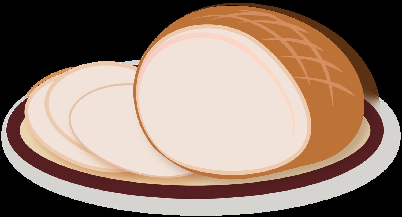 Ham clipart sliced ham. Holiday hobbies by jenvie