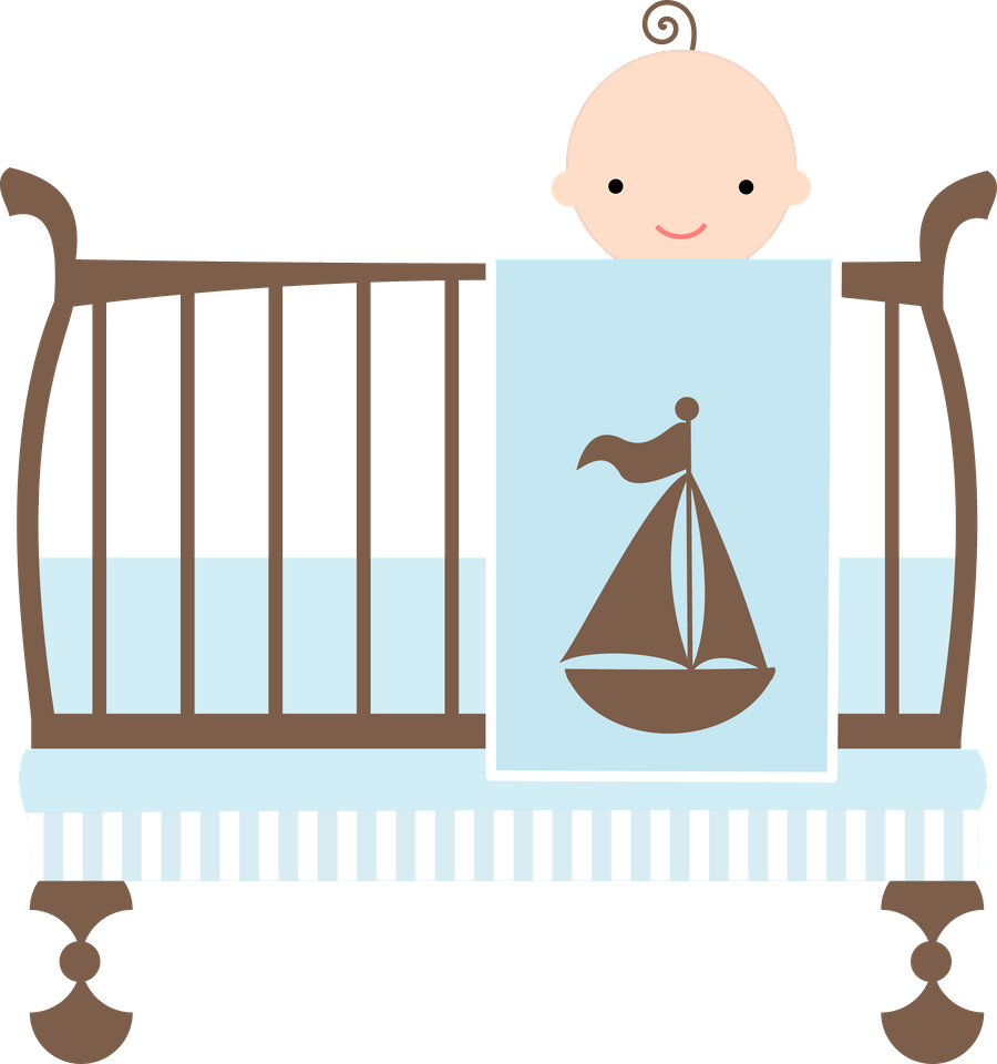 Furniture clipart preschool. Crib baby boy graphics