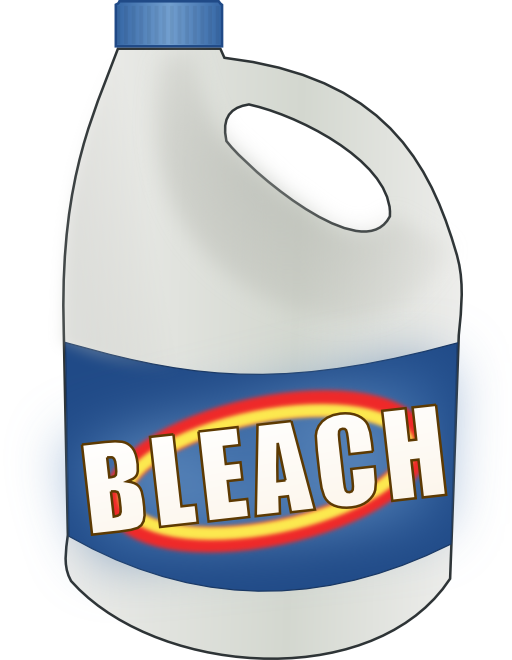 Clipart panda free images. Bleach bottle png