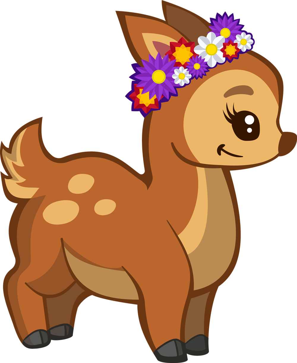 Impala at getdrawings com. Deer clipart cute
