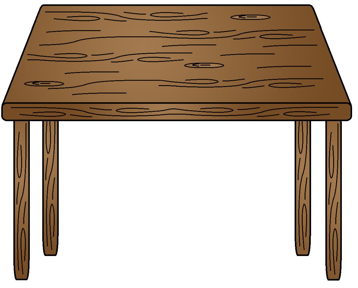Table clip art download. Clean clipart furniture polish