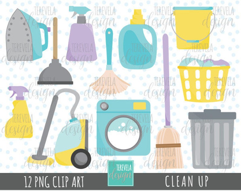 Cleaning clipart laundry supply.  sale commercial use