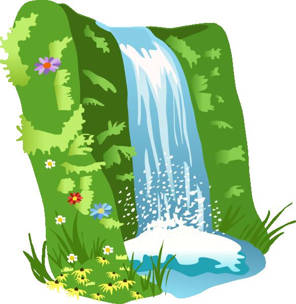 jungle clipart jungle waterfall