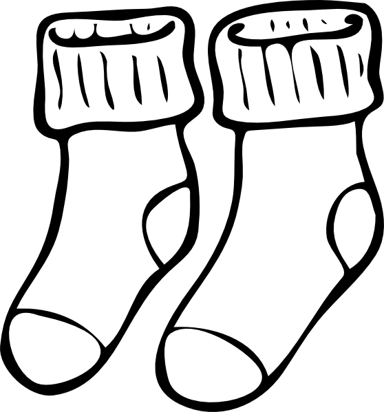 Clipart socks two. Zombies and dice where