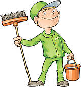 Cleaning clipart sweeper. Free cliparts download clip