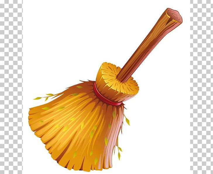 Witch s broom mop. Cleaning clipart sweeper