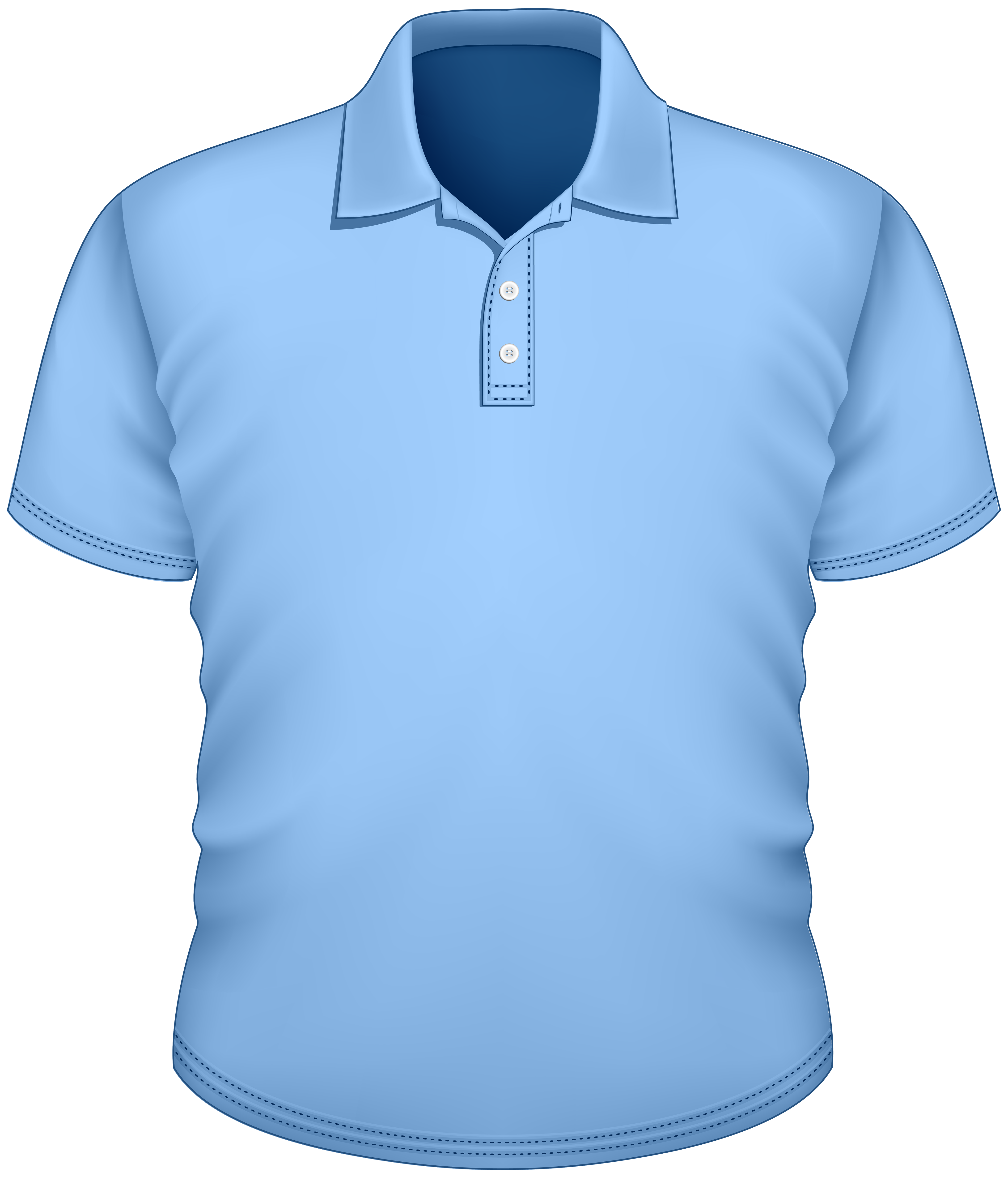 Clothing clipart shirt. Male blue png best