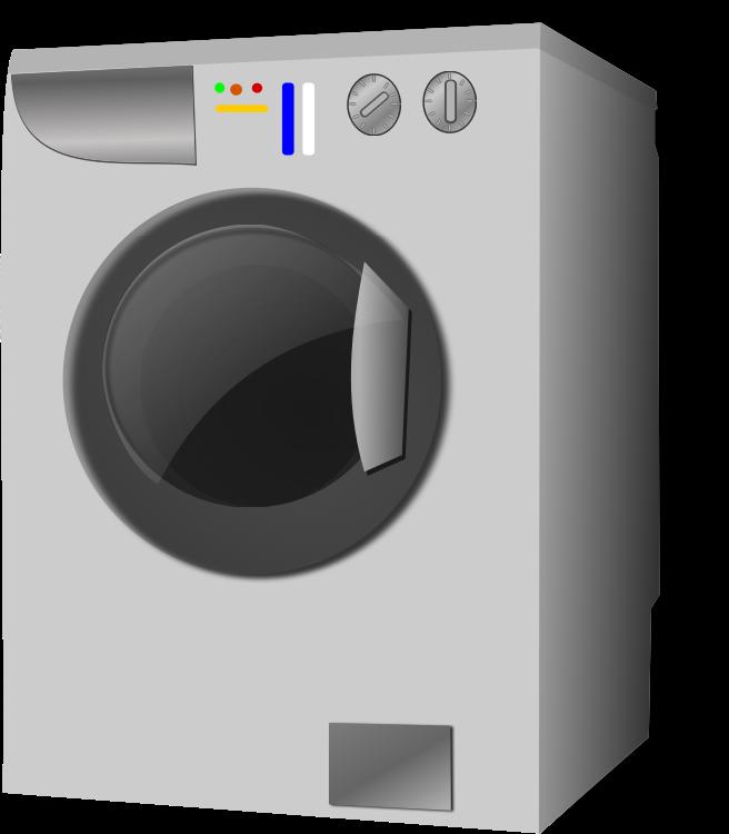 Cleaning clipart washed clothes. Washing machine medium image