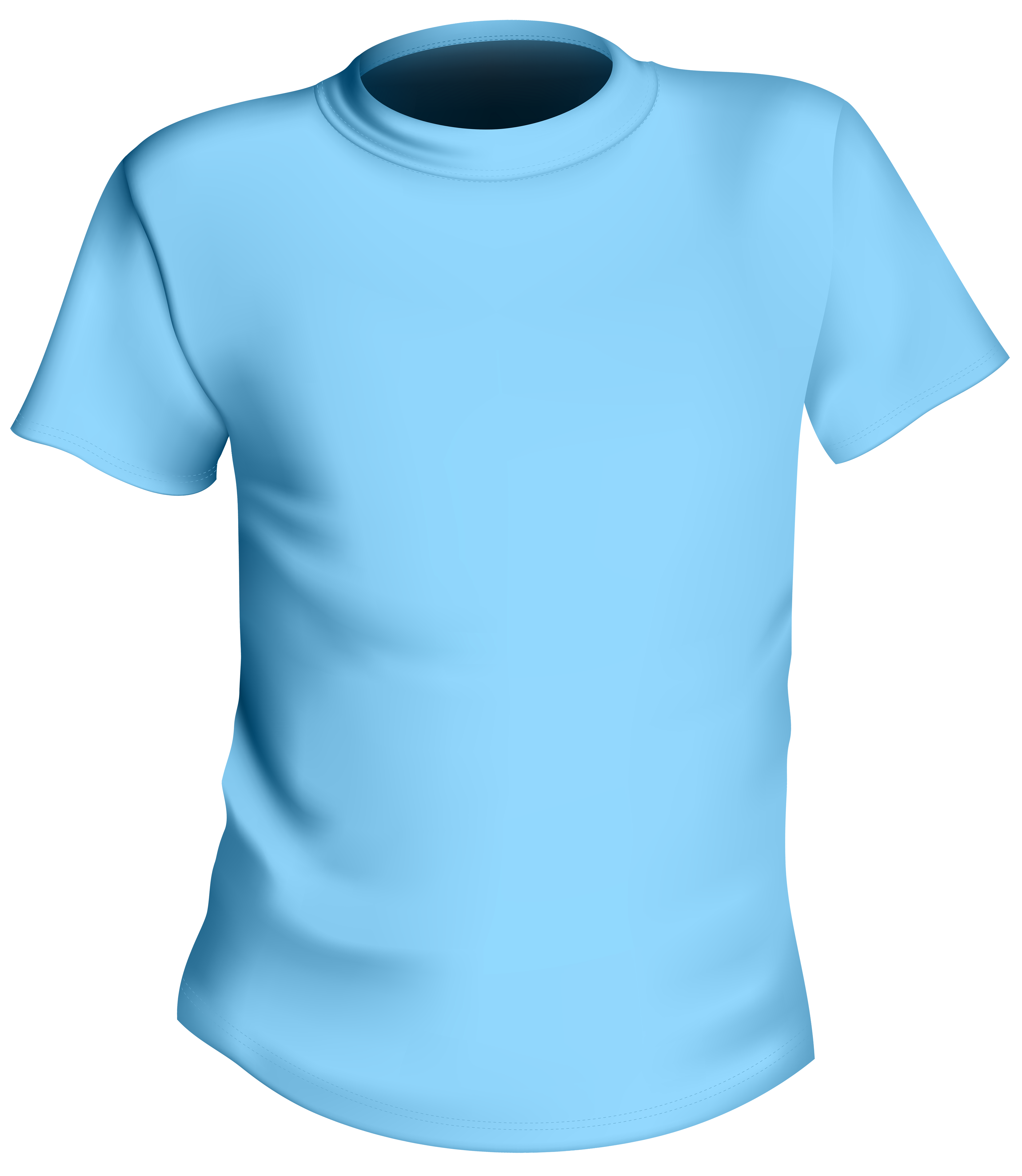 Blue male shirt png. Cleaning clipart washed clothes