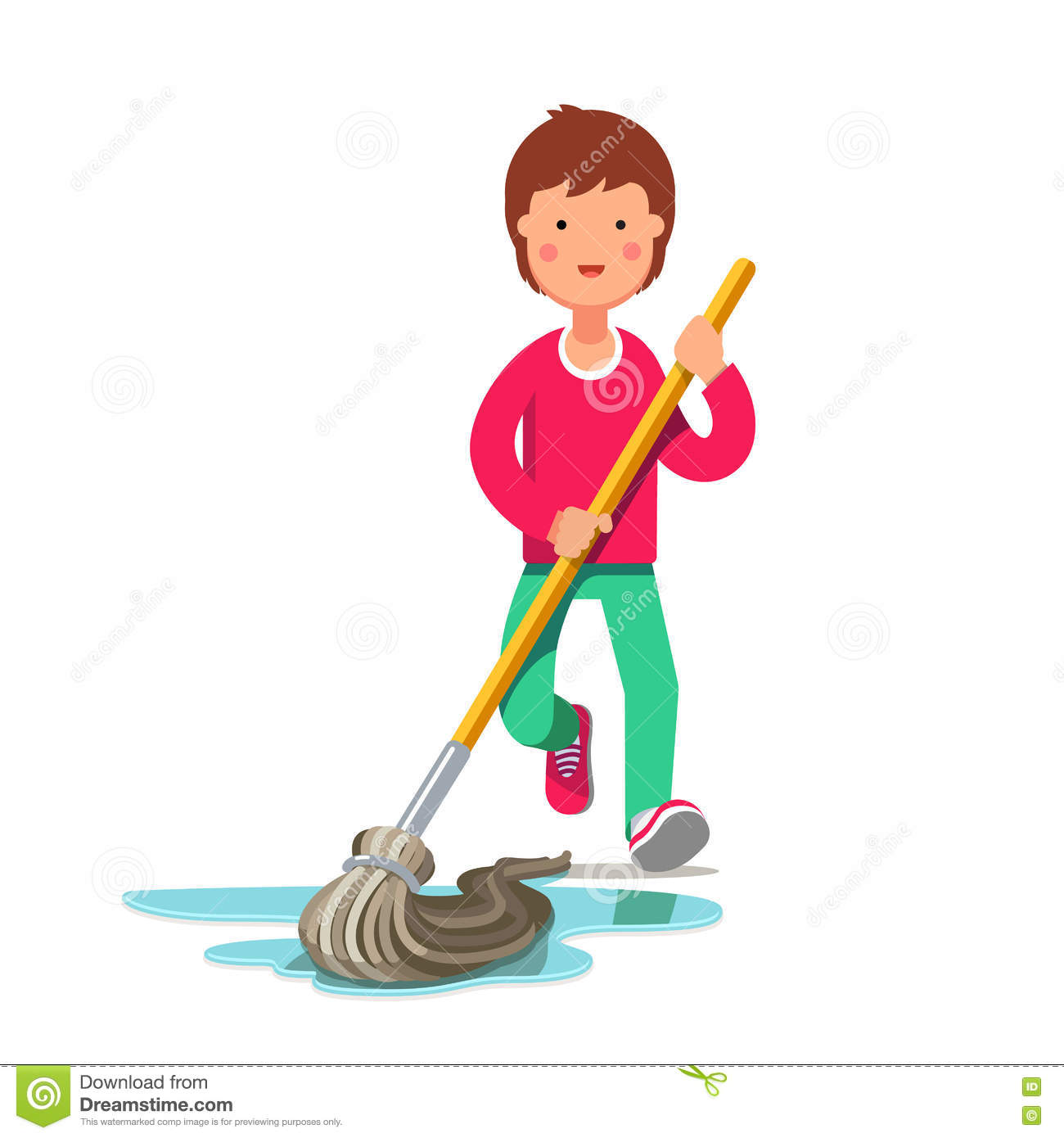 Kid free download best. Cleaning clipart washing floor