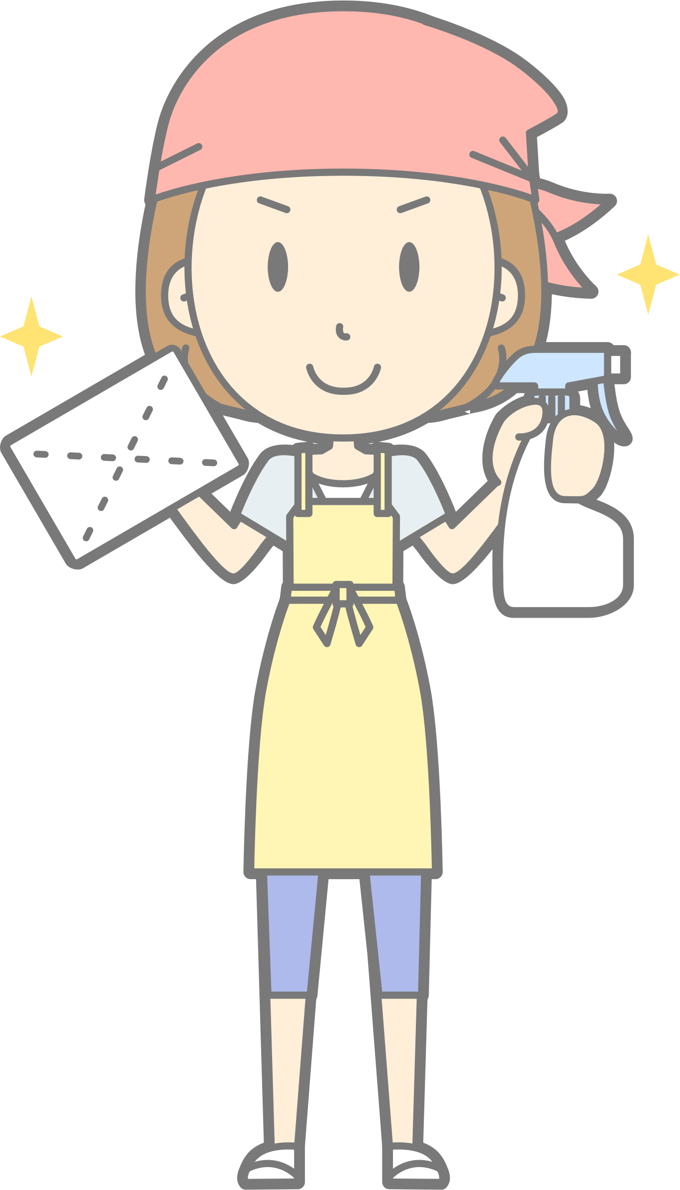 Clipart person cleaning. Window cleaner big image