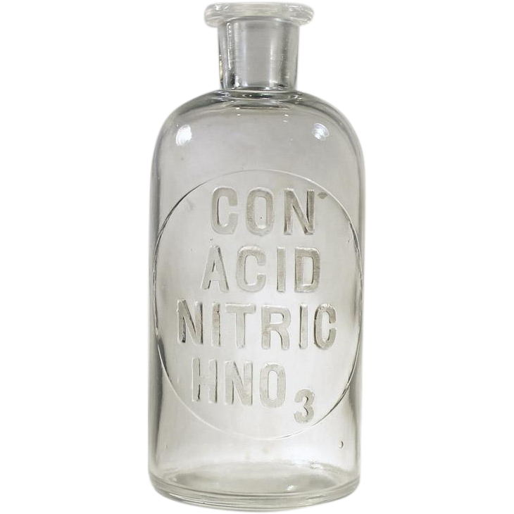 Con acid nitric hn. Clear bottle png