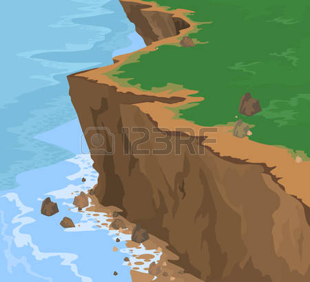 Station . Cliff clipart