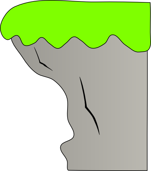 Cliff clipart. Station