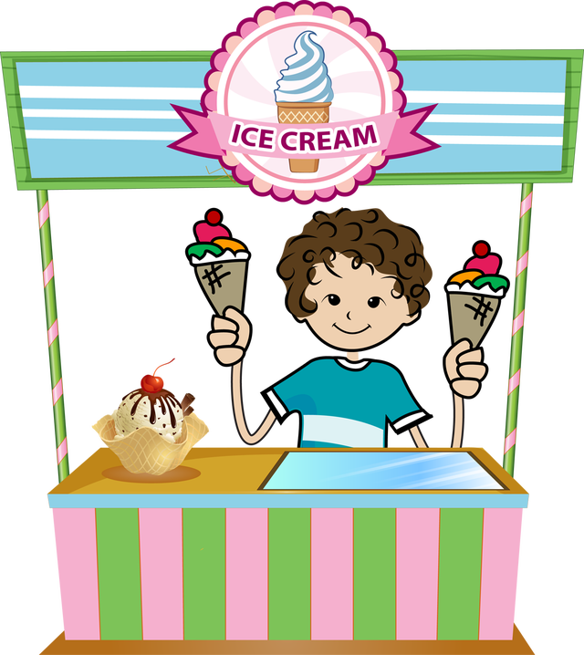 icecream clipart vendor