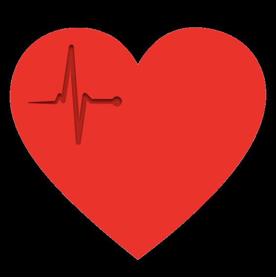 Heartbeat clipart cardiac rhythm. About heart i o