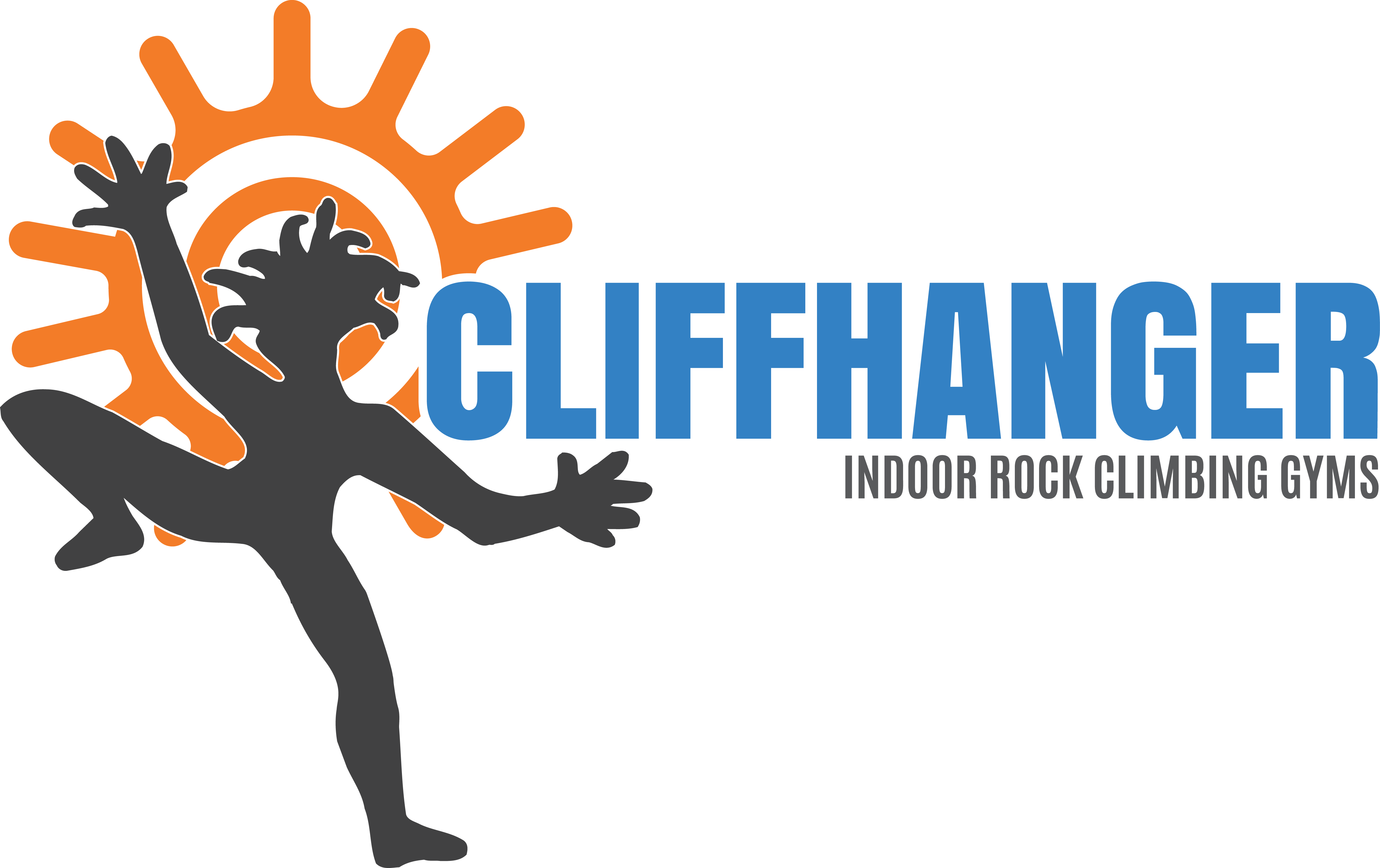 Passes cliffhanger safety . Party clipart rock climbing