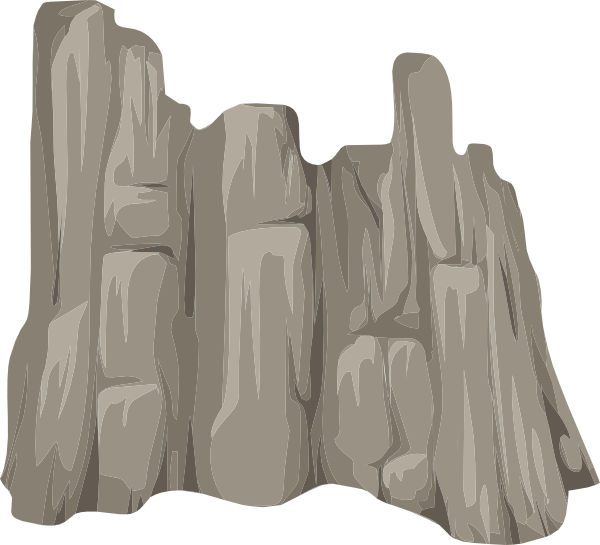 Alpine face skirt clip. Clipart rock rock cliff